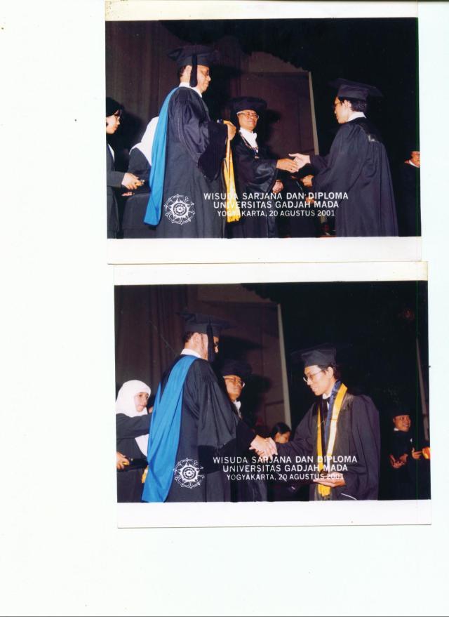 WISUDA UGM 2001