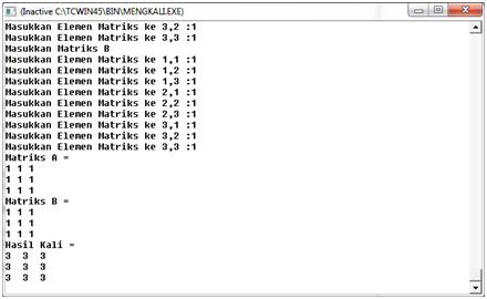 Aljabar linear dan matriks pdf