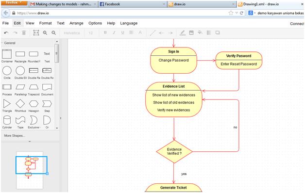 Membuat diagram alir rahmadya trias handayanto berikutnya tinggal klik file eksport pilih filenya jika kita akan melanjutkan gambar di lain waktu simpanlah dalam format xml ccuart Images