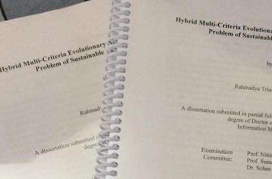 Dissertation by r ahmad
