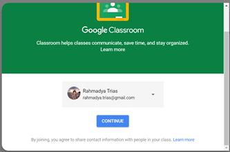 Membuat Kelas Online Di Google Classroom Rahmadya Trias Handayanto
